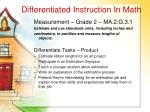 differentiated instruction in math41