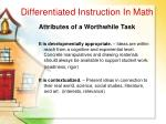 differentiated instruction in math42