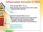 differentiated instruction in math48
