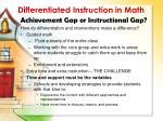 differentiated instruction in math5