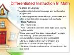 differentiated instruction in math51