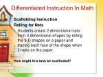 differentiated instruction in math57