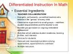 differentiated instruction in math69