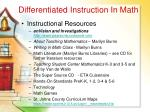 differentiated instruction in math71