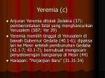 yeremia c