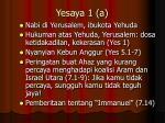 yesaya 1 a