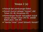 yesaya 2 a
