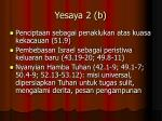 yesaya 2 b