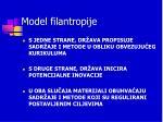 model filantropije