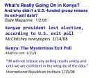kenya the mysterious exit poll allafrica com 1 15 8