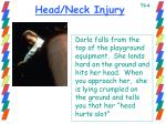 head neck injury