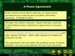 a peace agreement