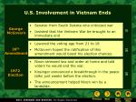 u s involvement in vietnam ends