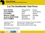 2 a the smallholder task force