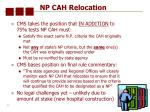 np cah relocation30