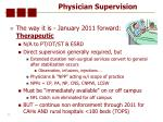 physician supervision43