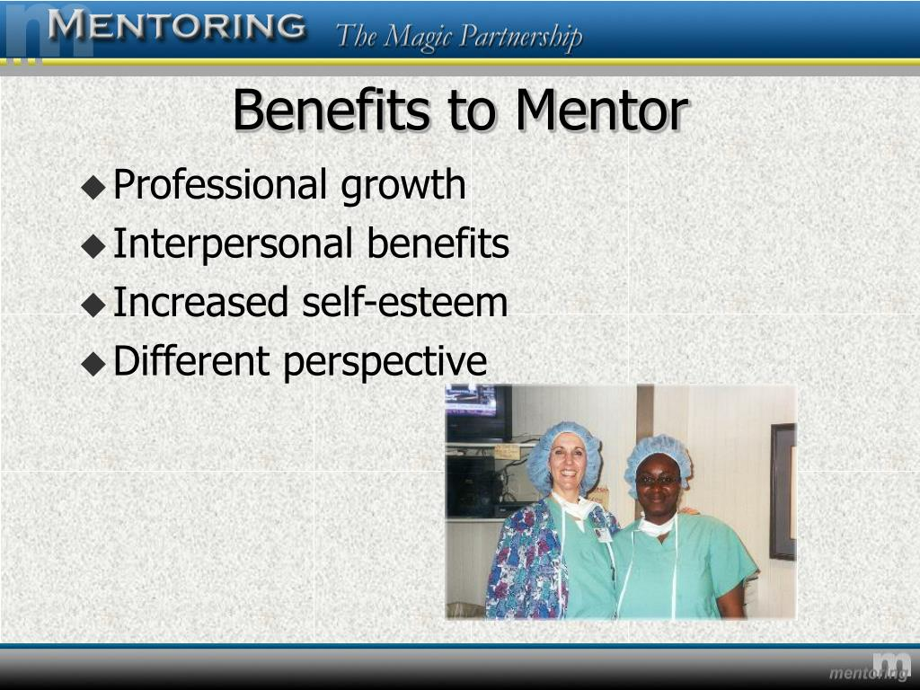 Benefits to Mentor