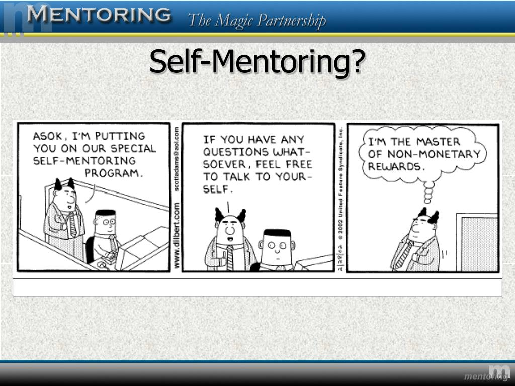 Self-Mentoring?
