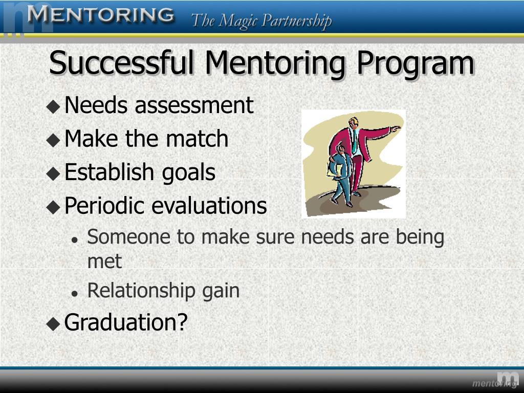 Successful Mentoring Program
