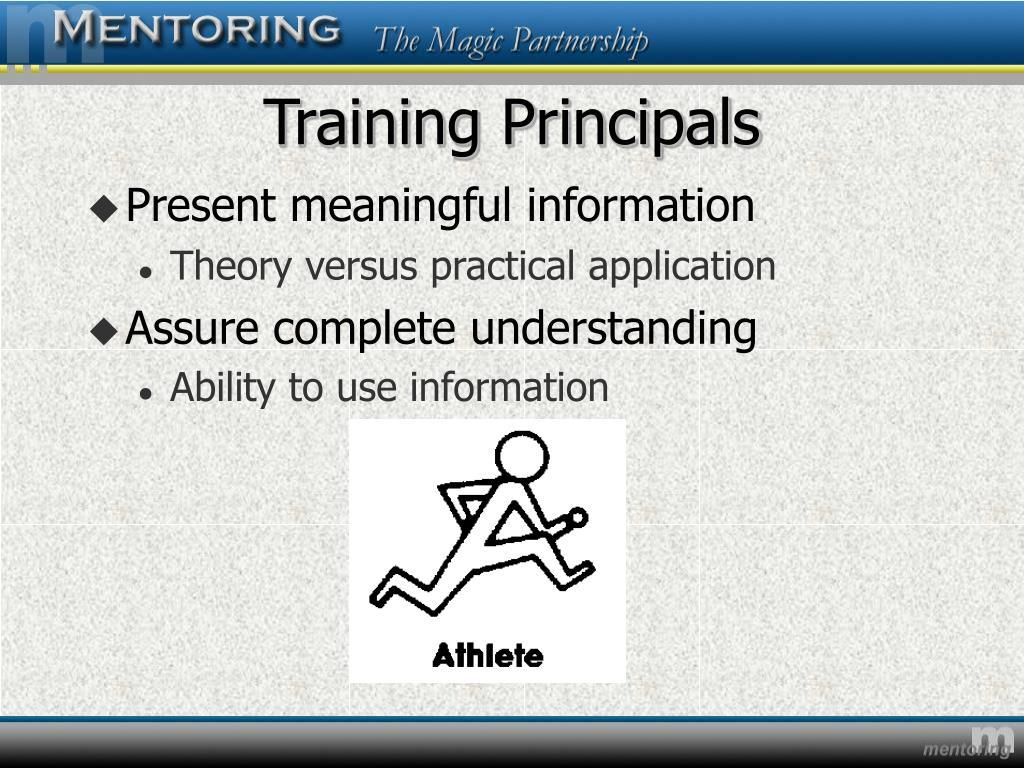 Training Principals