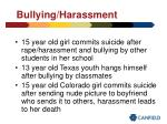 bullying harassment