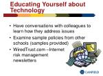 educating yourself about technology39