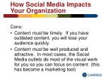 how social media impacts your organization21