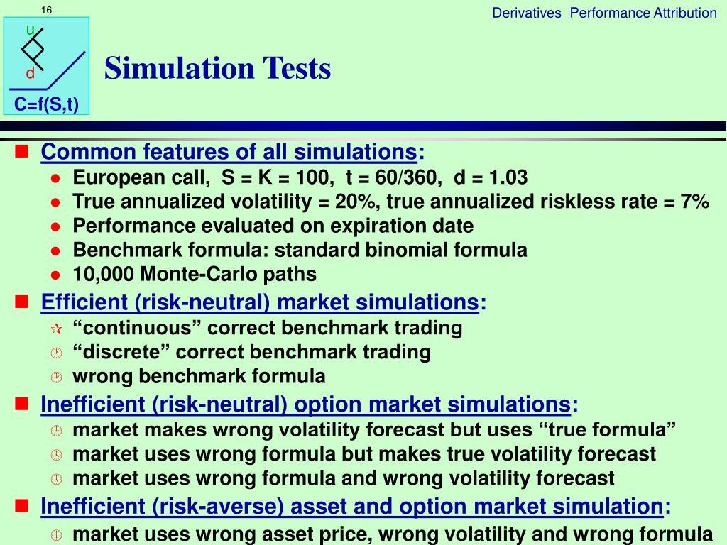 Simulation Tests