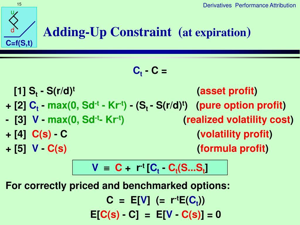 Adding-Up Constraint  (