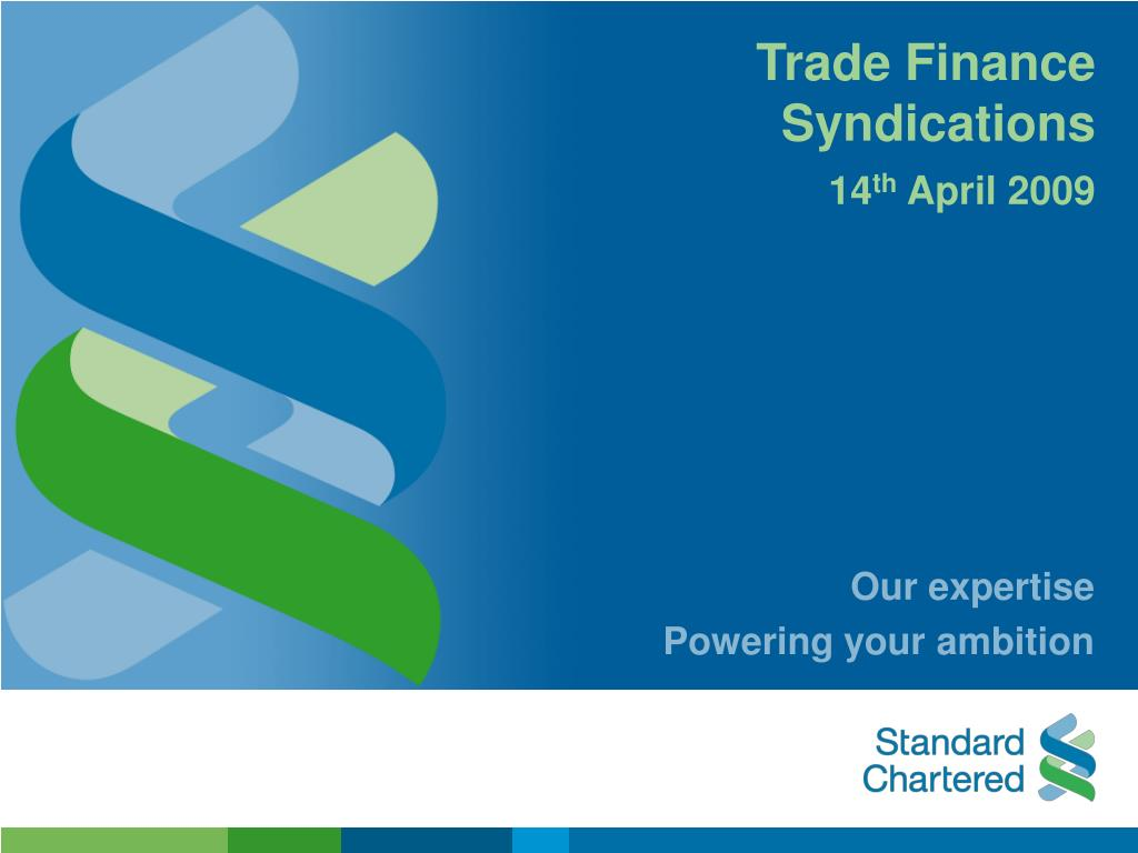 trade finance syndications l.