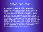 action plan cont