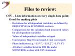 files to review55