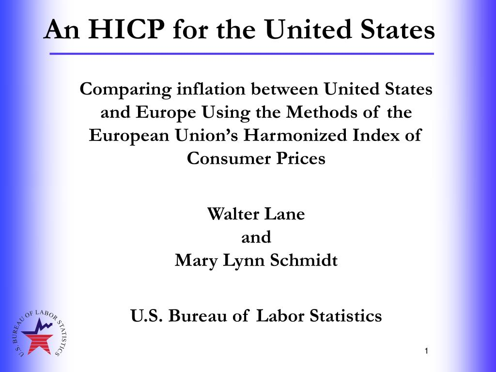 an hicp for the united states l.