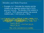 molality and mole fraction9