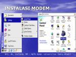 instalasi modem2
