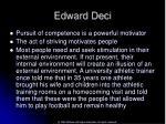 edward deci