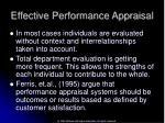 effective performance appraisal42