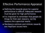 effective performance appraisal43