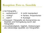 rezeption foto vs gem lde