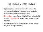 big endian little endian