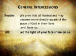 general intercessions1