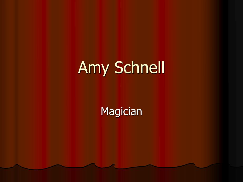 amy schnell l.