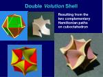 double volution shell