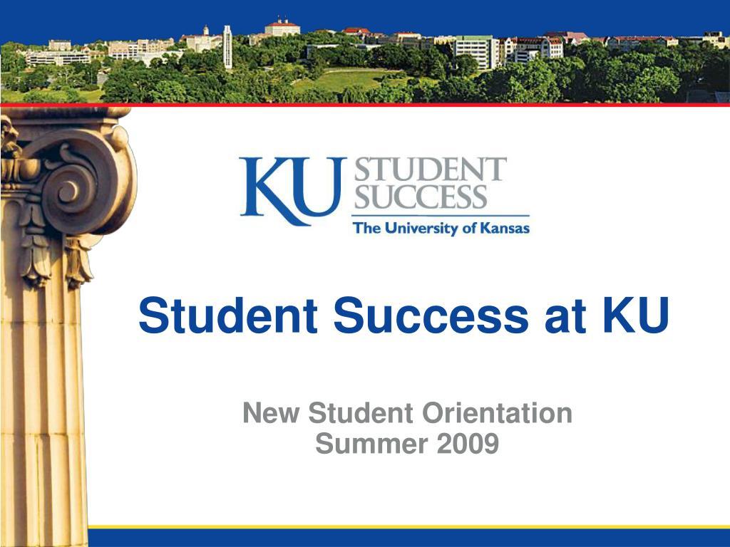 student success at ku l.
