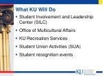 what ku will do17