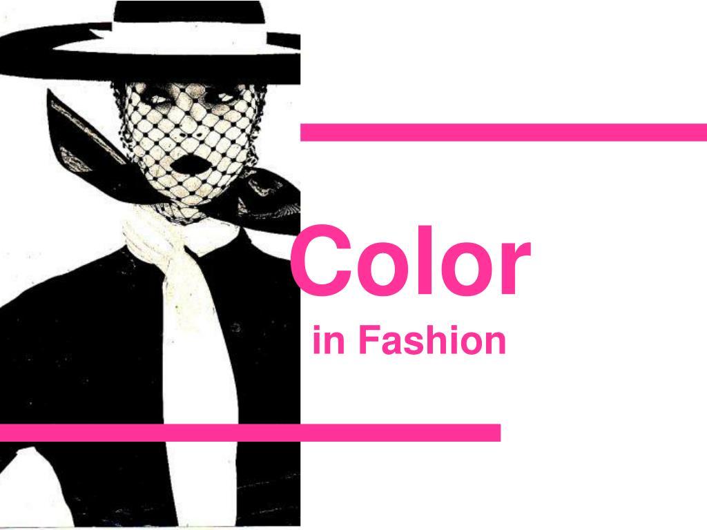 color in fashion l.