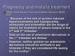 pregnancy and malaria treatment40