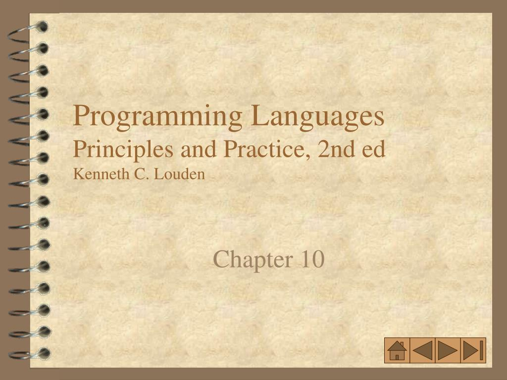 programming languages principles and practice 2nd ed kenneth c louden l.
