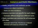 instance and static members1