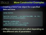 more constructor examples